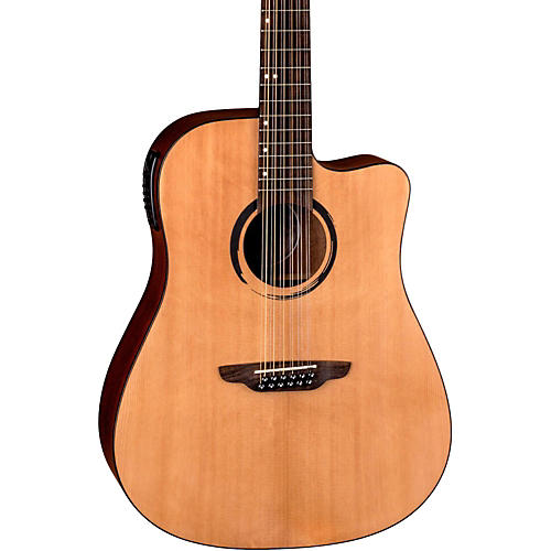 Luna Guitars WABI DC 12 Sabi 12-String Dreadnought Acoustic-Electric Guitar-thumbnail