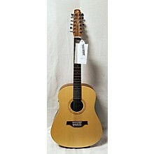 Seagull WALNUT 12 I SYSTEM 12 String Acoustic Electric Guitar