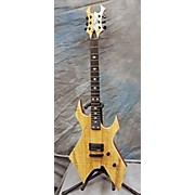 WARLOCK EXOTIC NECK THROUGH Solid Body Electric Guitar