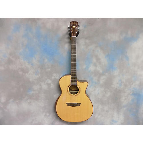 used washburn wcg25sce acoustic electric guitar natural guitar center. Black Bedroom Furniture Sets. Home Design Ideas