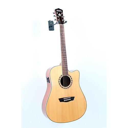 Washburn WD 10SCE Cutaway Acoustic-Electric Guitar-thumbnail