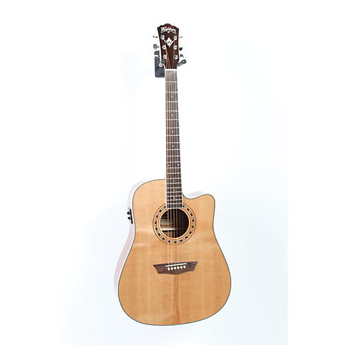 Washburn WD 10SCE Cutaway Acoustic-Electric Guitar