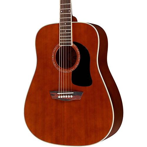 Washburn WD100DL Dreadnought Mahogany Acoustic Guitar Natural