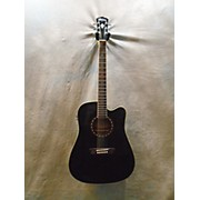 Washburn WD10CEB Acoustic Electric Guitar