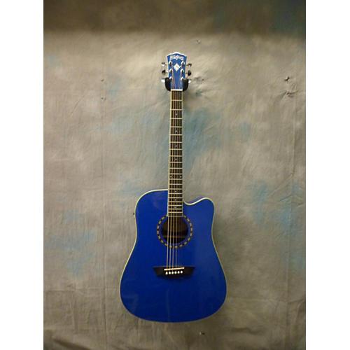 Washburn WD10CEBL Acoustic Electric Guitar
