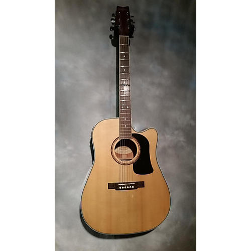 Washburn WD10SCE Acoustic Electric Guitar-thumbnail
