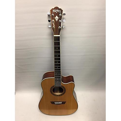 used washburn wd10sce acoustic electric guitar guitar center. Black Bedroom Furniture Sets. Home Design Ideas