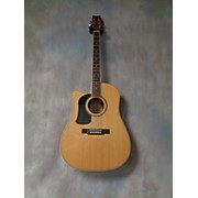 Washburn WD10SCE Left Handed Acoustic Electric Guitar