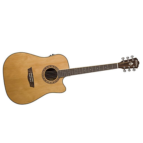 Washburn WD11SCE Acoustic-Electric Guitar-thumbnail