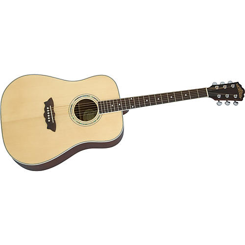 Washburn WD20S Dao Deluxe Dreadnought Acoustic Guitar-thumbnail