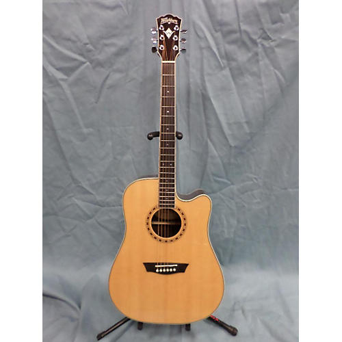 Washburn WD20SCE Acoustic Electric Guitar-thumbnail