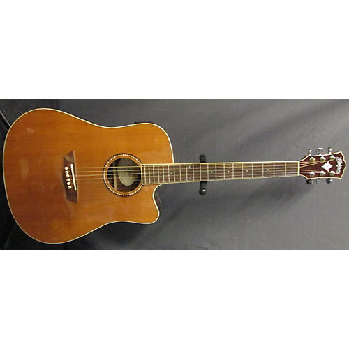 Washburn WD23SCE Acoustic Electric Guitar-thumbnail