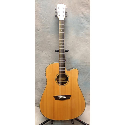 Washburn WD27SCE Acoustic Electric Guitar-thumbnail