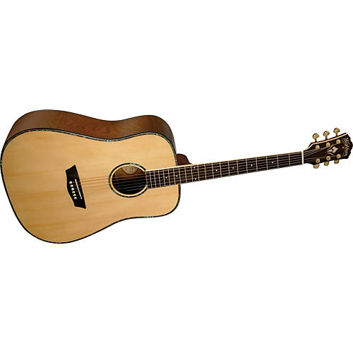Washburn WD35S Solid Sitka Spruce Top Acoustic Dreadnought Tamo Ash Guitar