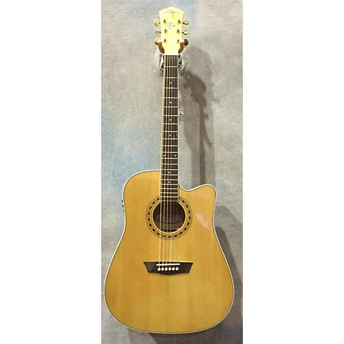Washburn WD40SCE 12 String Acoustic Electric Guitar-thumbnail