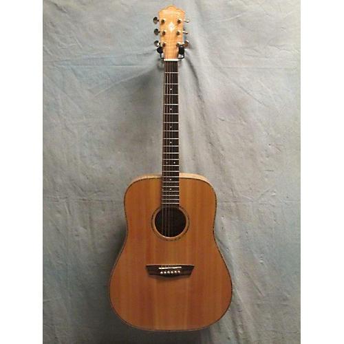 Washburn WD45S Acoustic Guitar Natural