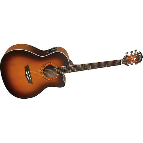 Washburn WG 7SCEA Grand Auditorium Cutaway Acoustic-Electric Guitar