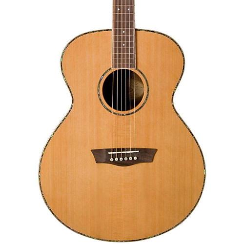 Washburn WG26S Solid Cedar Top Acoustic Grand Auditorium Rosewood Guitar Natural