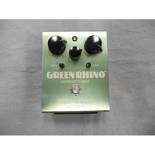 Way Huge Electronics WHE202 Green Rhino Overdrive - MKII Effect Pedal-thumbnail