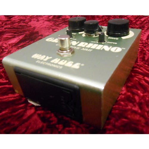 Way Huge Electronics WHE202 Green Rhino Overdrive Effect Pedal