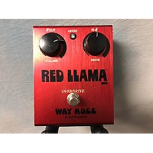 Way Huge Electronics WHE203 Red Llama Overdrive Effect Pedal