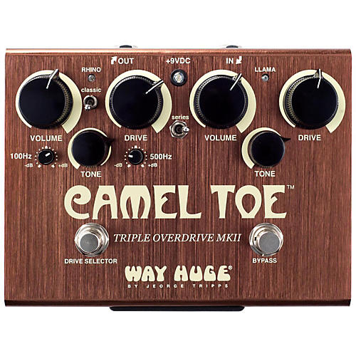 Way Huge Electronics WHE209 Camel Toe Triple Overdrive MKII-thumbnail