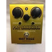 Way Huge Electronics WHE301 Fat Sandwich Harmonic Saturator Distortion Effect Pedal