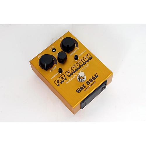 Way Huge Electronics WHE301 Fat Sandwich Harmonic Saturator Distortion Guitar Effects Pedal  888365138978