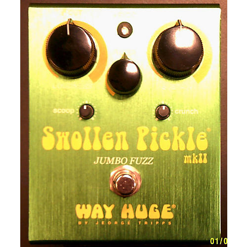 Way Huge Electronics WHE401 Swollen Pickle MKII Super Jumbo Fuzz Effect Pedal-thumbnail