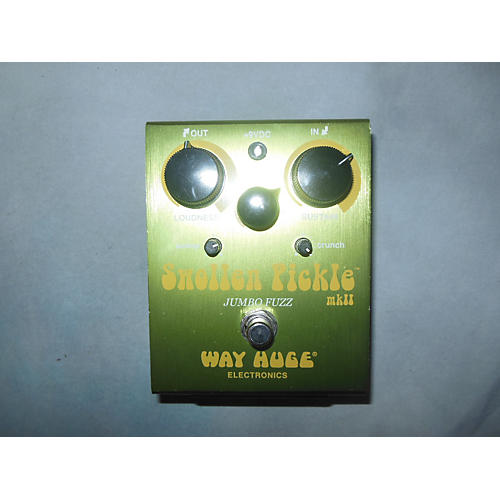 Way Huge Electronics WHE401 Swollen Pickle MKII Super Jumbo Fuzz Effect Pedal-thumbnail