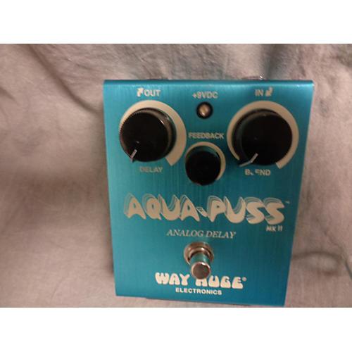 Way Huge Electronics WHE701 Aqua Puss Analog Delay Effect Pedal
