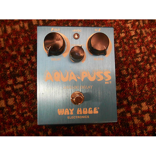 Way Huge Electronics WHE701 Aqua Puss Analog Delay Effect Pedal