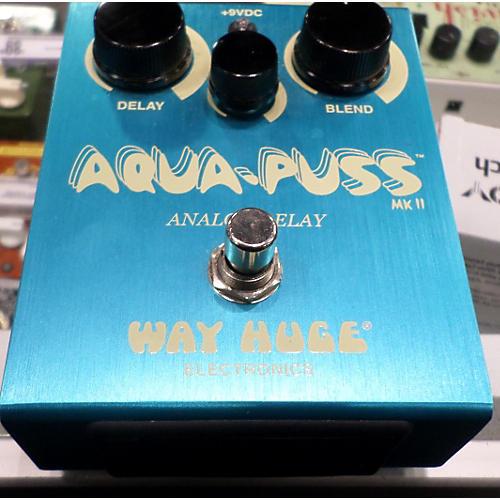 Way Huge Electronics WHE701 Aqua Puss Analog Delay Effect Pedal-thumbnail