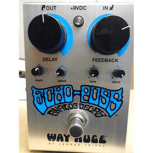 Way Huge Electronics WHE702 Echo Puss Analog Delay Effect Pedal-thumbnail