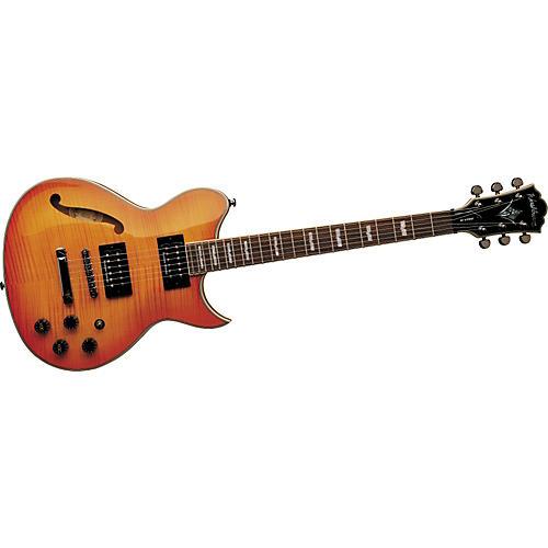 washburn wi67 pro semi hollow flamed top electric guitar w case guitar center. Black Bedroom Furniture Sets. Home Design Ideas