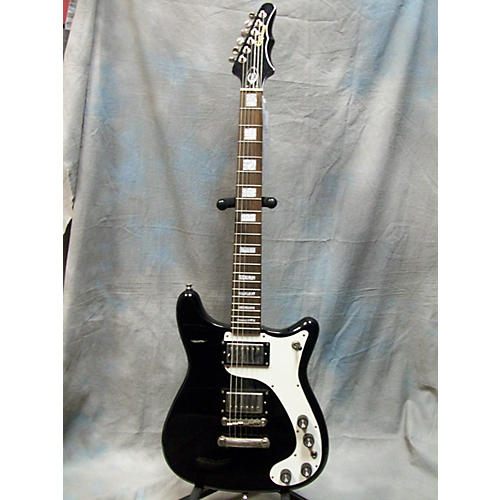 Epiphone WILLSHIRE LIMITED EDITION CUSTOM SHOP Black Solid Body Electric Guitar-thumbnail