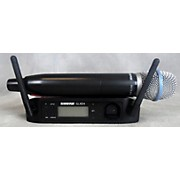 Shure WIRELESS GLX-D BETA 87A Handheld Wireless System