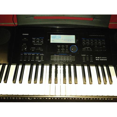 Casio WK-6600 Portable Keyboard