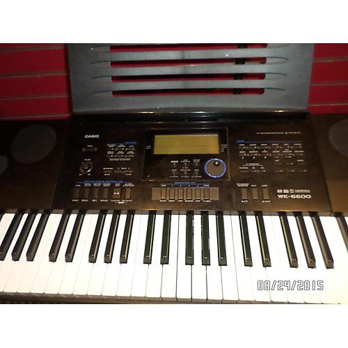 Casio Keyboard Workstation Wk 7600 : used casio wk6600 76 key keyboard workstation guitar center ~ Vivirlamusica.com Haus und Dekorationen