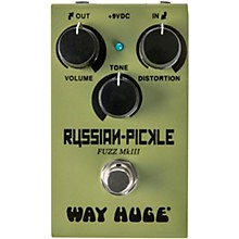 Way Huge Electronics WM42 Mini Russian Pickle Fuzz Effects Pedal