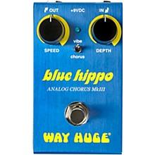 Way Huge Electronics WM61 Mini Blue Hippo Analog Chorus Effects Pedal