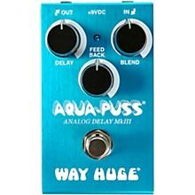 Way Huge Electronics WM71 Mini Aqua-Puss Analog Delay Effects Pedal