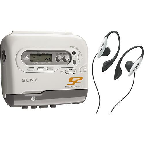 Sony WMFS233 S2 Sports Radio/Cassette Walkman Player-thumbnail