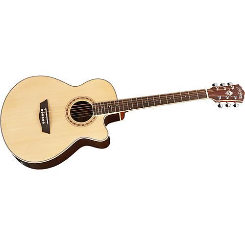 Washburn WMJ 20SCE Mini Jumbo Cutaway Acoustic-Electric Guitar