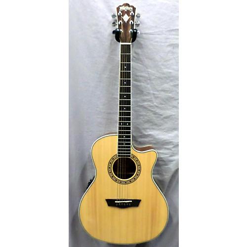 used washburn wmj10sce acoustic electric guitar guitar center. Black Bedroom Furniture Sets. Home Design Ideas