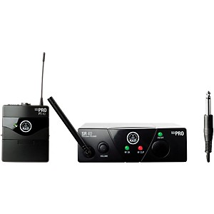AKG WMS 40 Mini Instrument Wireless System Ch A with D8000M Handheld