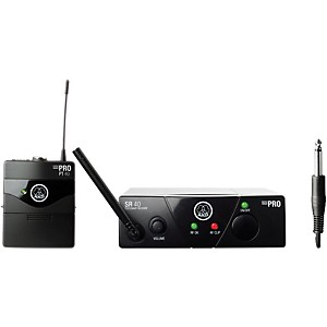 AKG WMS 40 Mini Instrument Wireless System Ch B with D8000M Handheld