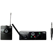 AKG WMS 40 Mini Instrument Wireless System Ch C with D8000M Handheld