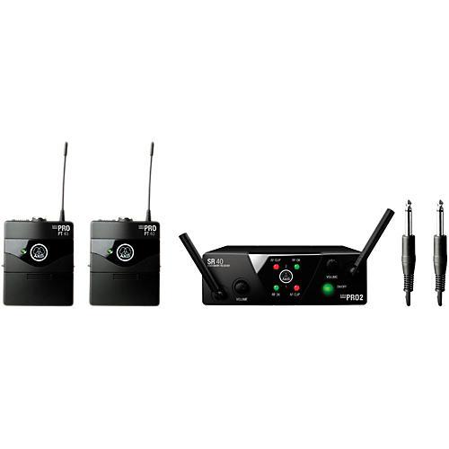 AKG WMS 40 Mini2 Instrument Wireless Microphone Set with D8000M Handheld-thumbnail