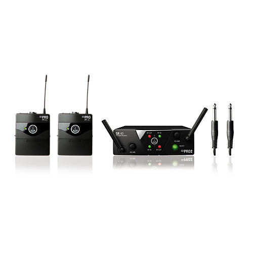 AKG WMS 40 Mini2 Instrument Wireless Microphone Set-thumbnail